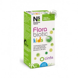 NS FLORABIOTIC KIDS8 SOBRES