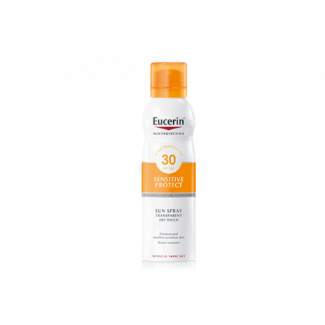 EUCERIN SUN PROTECTION 30 SPRAY TRANSPARENTEDRY TOUCH200 ML