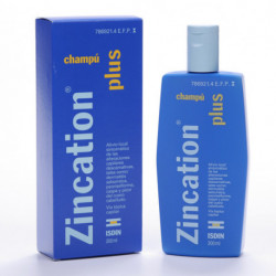 ZINCATION PLUS10 MG/ML + 4 MG/ML CHAMPU MEDICINAL 200 ML